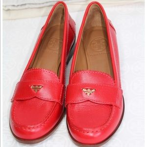 Authentic Tory Burch Penny Loafers